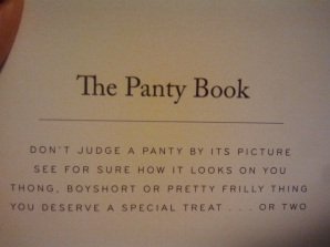 Panty Book