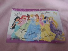 Post card my little cousin got when she wrote Princess Aurora. LOVE IT!