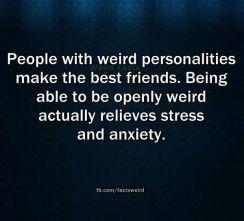 Weird Personalities