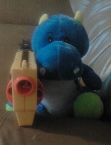 Gun-weilding Dragon
