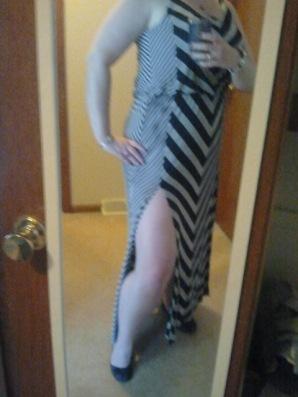 Maxi Skirt - Side Slit