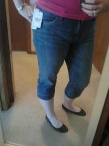 Capri Jeans on Me