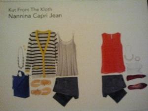 Capri Jeans Card