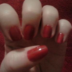 Myrtle - Flapper Red