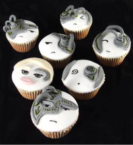 Borg Cupcakes
