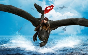 HTTYD2 Hiccup and Toothless