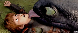HTTYD2 Toothless Lick