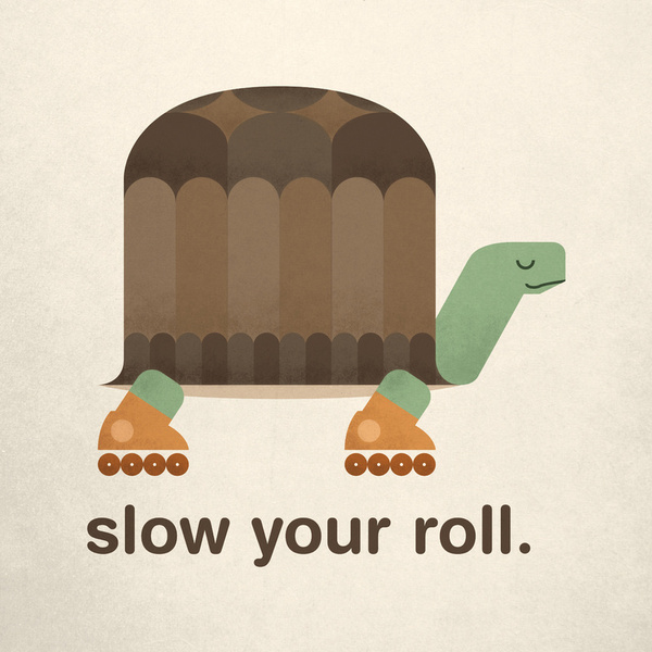 Image result for slow your roll