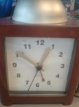 The clock. When this bad boy reaches 5:00 PM I am all smiles. :D