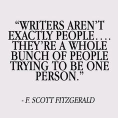 One Person Writer
