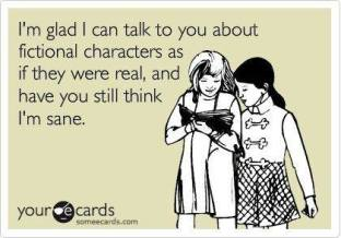 Real fictional characters