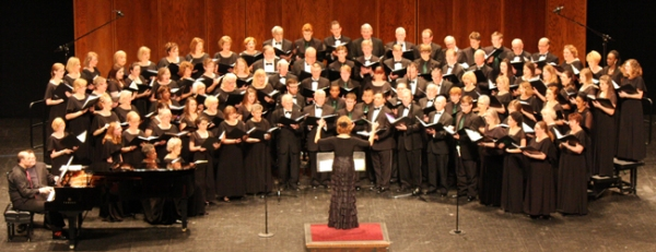 The Johnson County Chorus, directed by Anita Cyrier