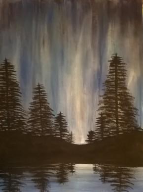 Aurora in the Pines (Glows in the dark)
